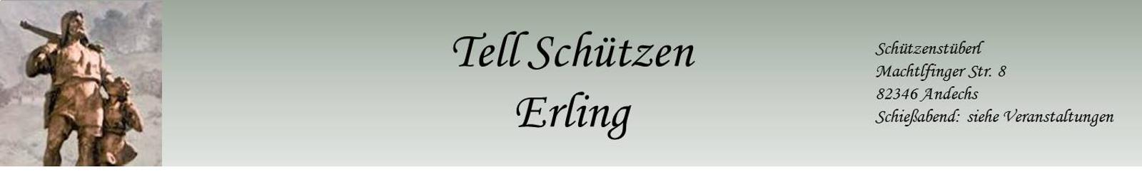 Schützengesellschaft Tell Erling - Andechs Logo