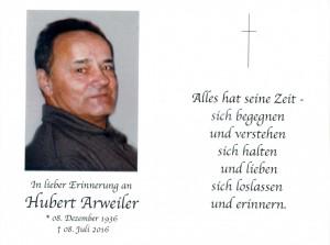 Arweiler Hubert