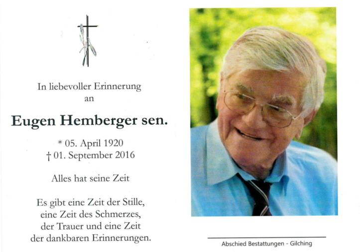 Eugen Hemberger sen.