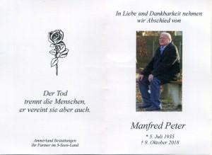 Sterbebild Manfred Peter389