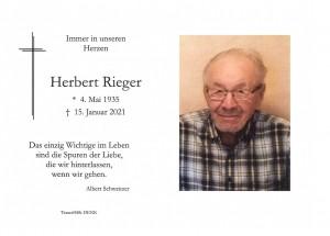 Herbert Rieger